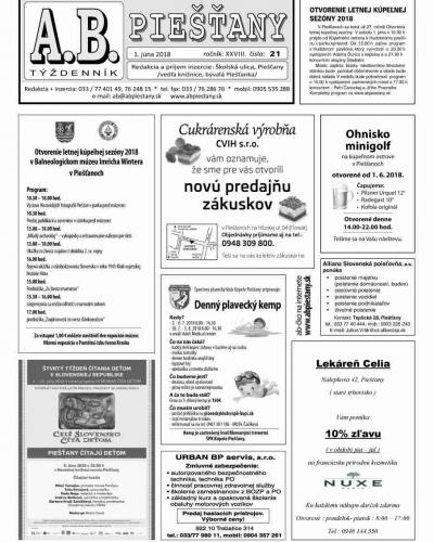AB Piešťany 21