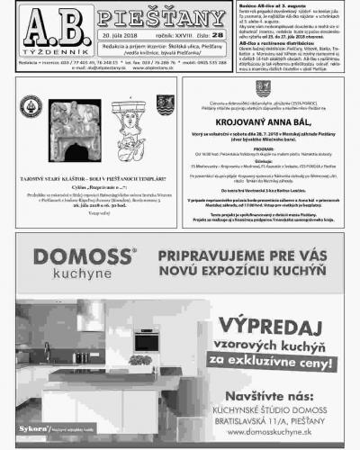 AB Piešťany 28
