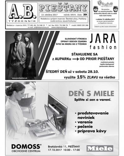 A.B. Piešťany č. 39