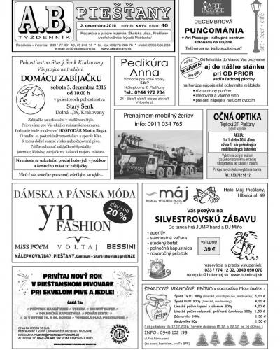 A.B. Piešťany č. 46