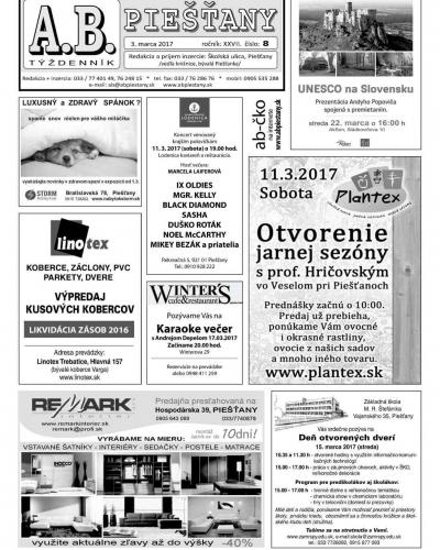 A.B Piešťany č.8