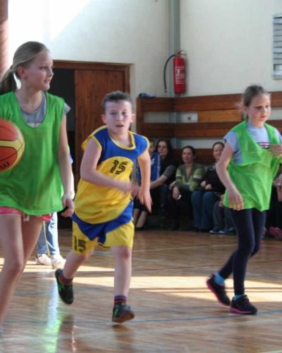 Basketbalové popoludnie na ZŠ Brezová
