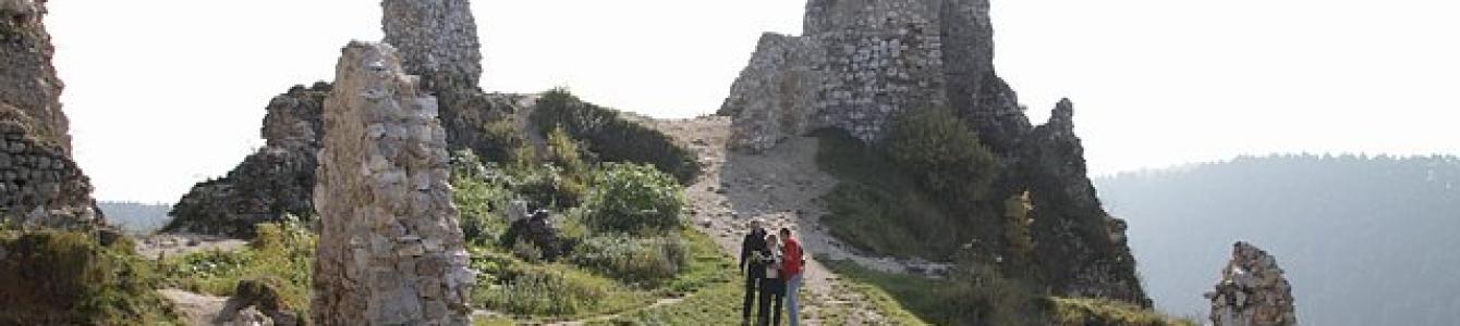 Čachtický hrad pred rekonštrukciou